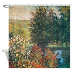 Roses in Hoshede Garden Shower Curtain