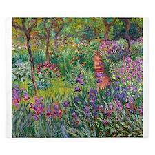 Giverny Iris Garden King Duvet