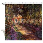 Garden Pathway at Giverny Shower Curtain