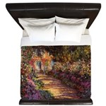 Garden Pathway at Giverny King Duvet