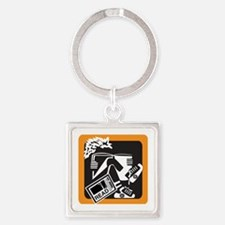 Kids Today Square Keychain