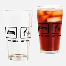 BBQ Drinking Glass