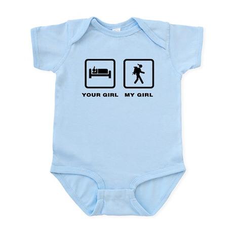 Backpacking Infant Bodysuit