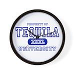 Tequila University Wall Clock