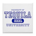 Tequila University Tile Coaster