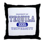 Tequila University Throw Pillow