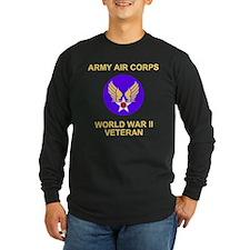 AAC-Veteran-Black Long Sleeve T-Shirt