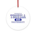Tequila University Ornament (Round)