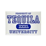 Tequila University Rectangle Magnet