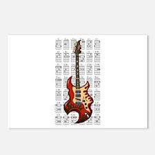 KuuMa Guitar 01 Postcards (Package of 8)
