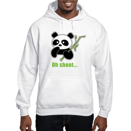 Oh Shoot! Panda Hooded Sweatshirt