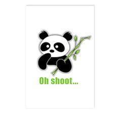 Oh Shoot! Panda Postcards (Package of 8)