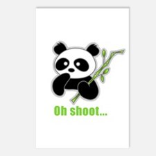 Oh Shoot! Panda Postcards (Package of 8)