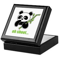 Oh Shoot! Panda Keepsake Box