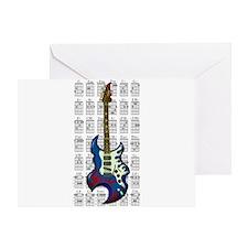 KuuMa Guitar 02 Greeting Card