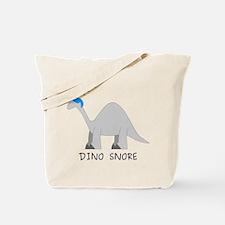 Dino Snore Tote Bag