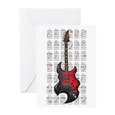 KuuMa Guitar 03 Greeting Card