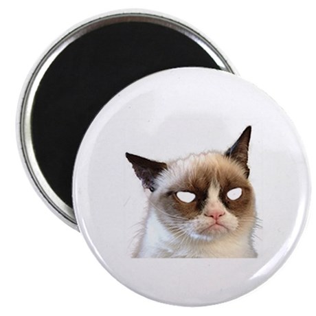 Creepy Cat Card Protector & Magnet