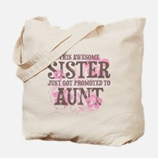 Promoted Aunt Tote Bag