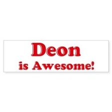 Deon is Awesome Bumper Bumper Sticker