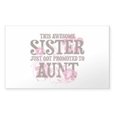 Promoted Aunt Decal