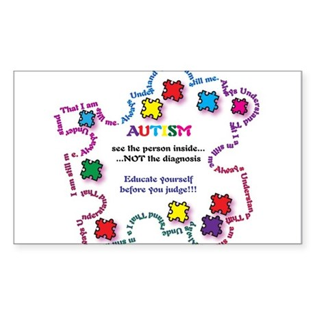 Autism Educate Yourself Sticker