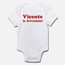 Vicente is Awesome Infant Bodysuit