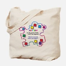 Autism Educate Yourself Tote Bag