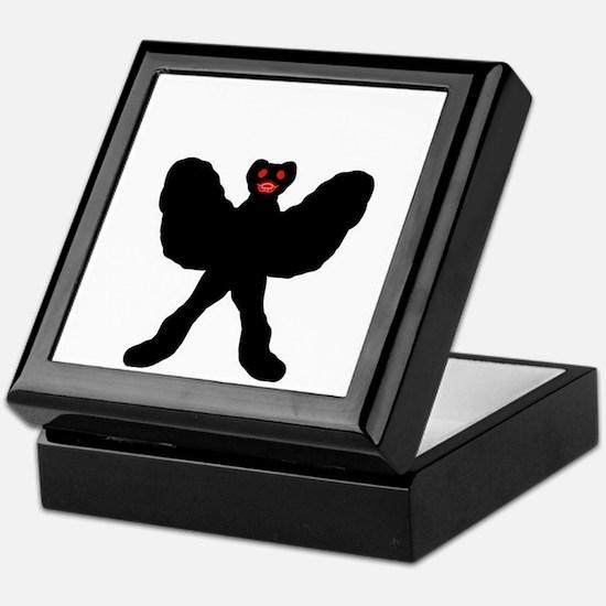 Cartoony Mothman Keepsake Box
