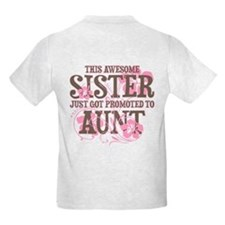 Promoted Aunt T-Shirt