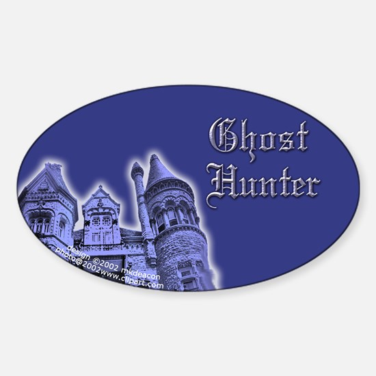 Haunted Mansion GH Oval Decal