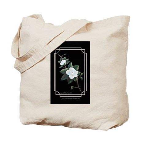 """Magnolia Elegance"" Tote Bag"
