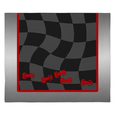 Race Cars King Duvet