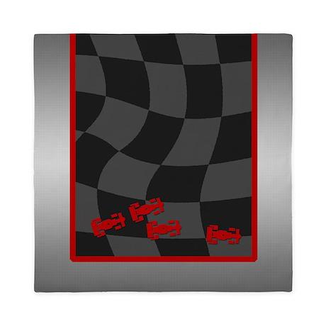 Race Cars Queen Duvet