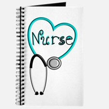 Nurse BLUE STETHO Journal
