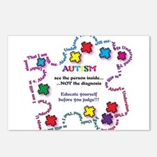 Autism Educate Yourself Postcards (Package of 8)