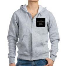 Travel Without a Map Zip Hoodie