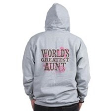Greatest Aunt Zip Hoodie