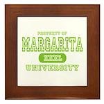 Margarita University Framed Tile