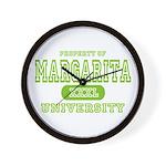 Margarita University Wall Clock