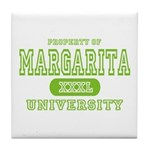 Margarita University Tile Coaster