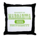 Margarita University Throw Pillow