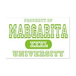 Margarita University Mini Poster Print