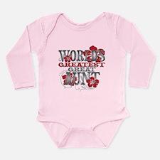 Greatest Great Aunt Long Sleeve Infant Bodysuit