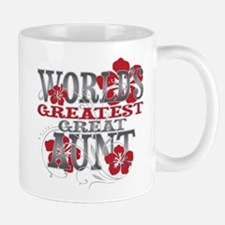 Greatest Great Aunt Small Mugs