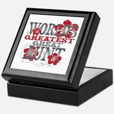 Greatest Great Aunt Keepsake Box