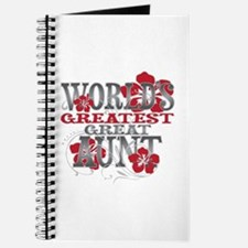 Greatest Great Aunt Journal
