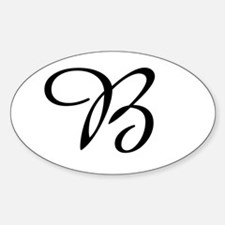 Amazone Monogram B Decal