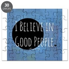 I Believe in Good People Puzzle