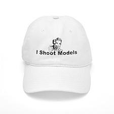 I Shoot Models Baseball Cap